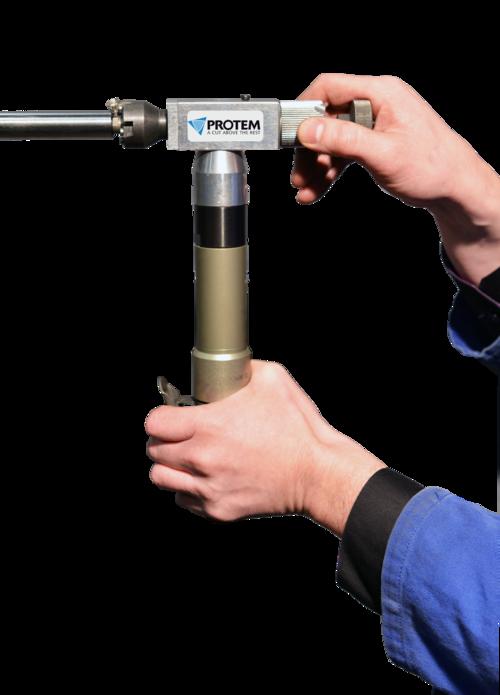 SM8 - Rohrendanfasmaschine mit Druckluftantrieb