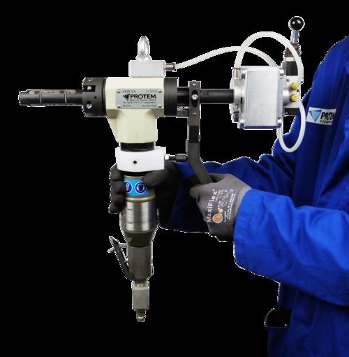 US25CA - Rohrendanfasmaschine mit automatischem Spannsystem
