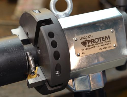US30HY - Rohrendanfasmaschine mit hydraulischem Antrieb Rohrfräse Rohrbearbeitung