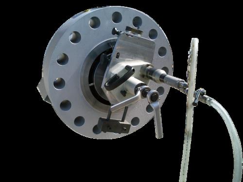 US40ASB - Rohrendanfasmaschine mit Plandreharm für Flansche