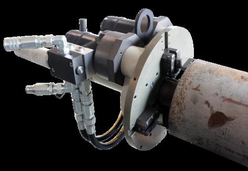 US80 - Rohrendanfasmaschine mit Druckluftmotor
