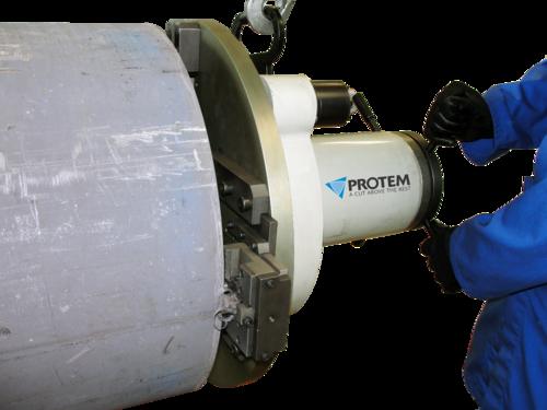 US150 - Rohrendanfasmaschine mit Druckluftmotor