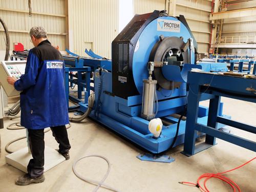 CTA-16-30 - Automatische Trenn- und Anfasmaschine für Rohre von 16