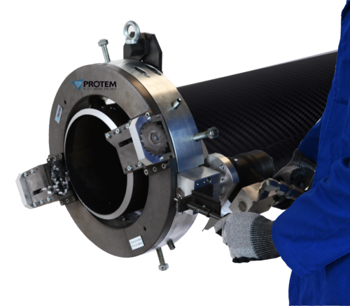 TTNG323 -  Rohrtrenn- und Anfasmaschine - Transportable Rohrtrenn- und Anfasmaschine zum Kaltschneiden für Rohre von 8
